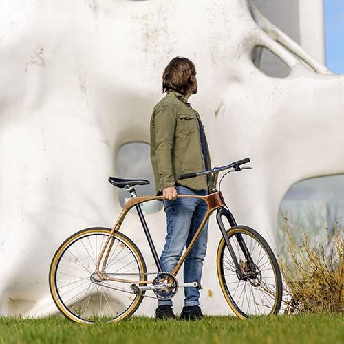 fourche carbone tube de selle singlespeed vélo