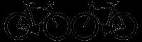 logo double vélos bikes